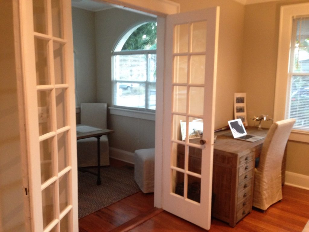 Doors to Sunroom